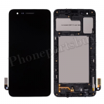 LCD Screen Display with Digitizer Touch Panel and Bezel Frame for LG K8 2018 SP200,LM-X210ULMG,LM-X210CM,Aristo 2 LMX210MA - Black PH-LCD-LG-00171BK