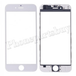 3 in 1 Front Screen Glass Lens with LCD Digitizer Frame and OCA for iPhone 6 (4.7 inches) - White PH-TOU-IP-00058WH