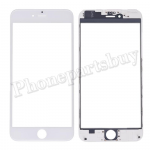 3 in 1 Front Screen Glass Lens with LCD Digitizer Frame and OCA for iPhone 6 Plus (5.5 inches) - White PH-TOU-IP-00059WH