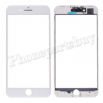 3 in 1 Front Screen Glass Lens with LCD Digitizer Frame and OCA for iPhone 8 Plus (5.5 inches) - White PH-TOU-IP-00065WH