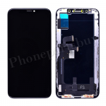 OLED LCD Screen Display with Touch Digitizer Panel and Frame for iPhone XS(5.8 inches)(Super High Quality) - Black PH-LCD-IP-00091BKAA