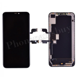 OLED LCD Screen Display with Touch Digitizer Panel and Frame for iPhone XS Max(6.5 inches)(Super High Quality) - Black PH-LCD-IP-00092BKAA