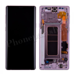 OLED Screen Display with Digitizer Touch Panel and Frame for Samsung Galaxy Note 9 N960(Purple Frame)(Refurbished) - Black PH-LCD-SS-00244BKPL
