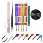 9 in 1 Opening Pry Repair Tools Screwdriver Kit Set for Mobile Phone MT-TO-UN-00222