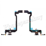 Charging Port with Flex Cable for iPhone XS(5.8 inches) - Black PH-CF-IP-00032BK