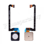 Home Button with Flex Cable,Connector and Fingerprint Scanner Sensor for Google Pixel 3 - White PH-HB-GO-00006WH