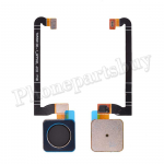 Home Button with Flex Cable,Connector and Fingerprint Scanner Sensor for Google Pixel 3 - Black PH-HB-GO-00006BK