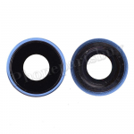 Rear Camera Glass Lens and Cover Bezel Ring for iPhone XR - Blue PH-CA-IP-00090BU