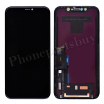 LCD Screen Display with Touch Digitizer Panel and Frame for iPhone XR(6.1 inches)(Super High Quality) - Black PH-LCD-IP-00093BKAA