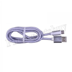 USB Quick Charge & Data Cable for Type-C - Silver MT-EI-UN-00326SL