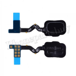 Home Button with Flex Cable,Connector and Fingerprint Scanner Sensor for Samsung Galaxy A6(2018) A600A - Black PH-HB-SS-00080BK