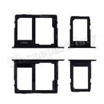 Sim Card Tray and MicroSD Card Tray for Samsung Galaxy A6(2018) A600A(2pcs/set) - Black PH-ST-SS-00036BK