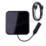Ultra-thin Wireless Fast Charging Charger Pad for iPhone 8/ 8 Plus/ X/ XR/ XS,Samsung Galaxy S7 Edge/ S8/ S8 Plus/ Note 8/ Note 9/ S9/ S9 Plus - Black MT-EI-UN-00328BK