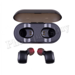 True Wireless Bluetooth 5.0 Earbuds Twins Stereo Earphone for Mobile Phone - Black MT-EI-UN-00329BK