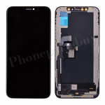 OLED LCD Screen Display with Touch Digitizer Panel and Frame for iPhone XS(5.8 inches)(Aftermarket Plus) - Black PH-LCD-IP-00091BKP