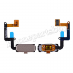 Home Button with Flex Cable,Connector and Fingerprint Scanner Sensor for Samsung Galaxy A7 2017 A7200/ A5 2017 A520 - Gold PH-HB-SS-00081GD