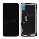 OLED LCD Screen Display with Touch Digitizer Panel and Frame for iPhone XS Max(6.5 inches)(High Quality) - Black PH-LCD-IP-00092BKA