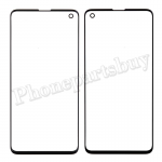 Front Screen Glass Lens for Samsung Galaxy S10 G973 - Black PH-TOU-SS-00170BK