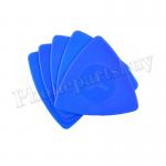Thin Triangular Plastic Pry Tool for Mobile Phone Repair(5Pcs/ Set) - Blue MT-TO-UN-00245BU