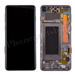 LCD Screen Display with Digitizer Touch Panel and Bezel Frame for Samsung Galaxy S10 G973(Black Frame) - Black PH-LCD-SS-00252BKBK