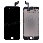 LCD Screen Display with Touch Digitizer Panel and Frame for iPhone 6S (4.7 inches) (Premium Plus) - Black PH-LCD-IP-00064BKG
