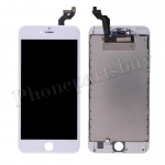 LCD Screen Display with Touch Digitizer Panel and Frame for iPhone 6S Plus (5.5 inches)(Premium Grade) - White PH-LCD-IP-00065WHG