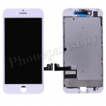LCD Screen Display with Touch Digitizer Panel and Frame for iPhone 7 (4.7 inches)(Premium Grade) - White PH-LCD-IP-00071WHG