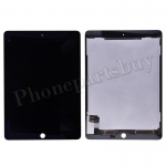 LCD Screen Display with Digitizer Touch Panel for iPad Air 2(Wake/ Sleep Sensor Installed)(Super High Quality) - Black PH-LCD-IP-00061BKAA