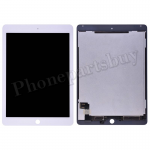 LCD Screen Display with Digitizer Touch Panel for iPad Air 2(Wake/ Sleep Sensor Installed)(Super High Quality) - White PH-LCD-IP-00061WHAA