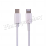3ft Type-C to 8 Pin Fast Charging Data Cable (Super High Quality) - White MT-EI-IP-00249WHAA