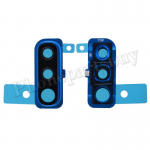 Rear Camera Glass Lens and Cover Bezel Ring for Samsung Galaxy A50 (2019) A505 - Blue PH-CA-SS-00239BU