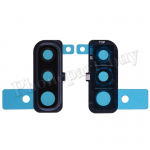Rear Camera Glass Lens and Cover Bezel Ring for Samsung Galaxy A50 (2019) A505 - Black PH-CA-SS-00239BK