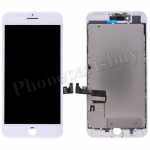 LCD Screen Display with Touch Digitizer Panel and Frame for iPhone 7 Plus (5.5 inches)(Incell) - White PH-LCD-IP-00072WHI