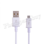 Micro USB Data Cable for Android Smartphone/ USB Enabled Device -White EI-DA-UN-00001WH