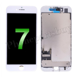 LCD Screen Display with Touch Digitizer Panel and Frame for iPhone 7 (4.7 inches)(Incell) - White PH-LCD-IP-00071WHI