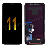 LCD Screen Display with Touch Digitizer Panel and Frame for iPhone 11(6.1 inches)(Super High Quality) - Black(Version 1) PH-LCD-IP-00102BKAA