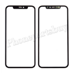 Front Screen Glass Lens with OCA for iPhone 11(6.1 inches) - Black PH-TOU-IP-00084BK
