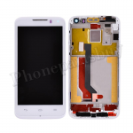LCD with Touch Screen Digitizer and Faceplate Frame for HUAWEI U9500 Ascend D1 (for HUAWEI) - White PH-LCD-HW-00016WH