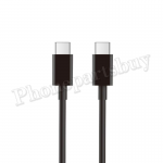 2M Type-C to Type-C Fast Charging Data Cable for iPad Pro 11/ 12.9(3rd Gen)/ Samsung Galaxy S10 Plus/ S10/ S10e/ Google Pixle (Super High Quality) - Black MT-EI-UN-00334BKAA