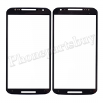 Front Screen Glass Lens for Motorola Moto X+1 X2 XT1092/  XT1093/  XT1094/  XT1095/  XT1096/  XT1097 - Black PH-TOU-MT-00033BK