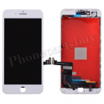 LCD Screen Display with Touch Digitizer Panel and Frame for iPhone 7 Plus(5.5 inches) (Refurbished) - White PH-LCD-IP-00072WHA