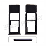 Sim Card Tray for Samsung Galaxy A20 (2019) A205 - Black PH-ST-SS-00040BK