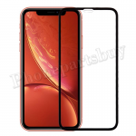 Full Cover Tempered Glass Screen Protector for iPhone XR/ 11(6.1 inches) - Black (Retail Packaging) MT-SP-IP-00159BK