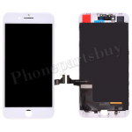 LCD Screen Display with Touch Digitizer Panel and Frame for iPhone 8 Plus (5.5 inches)(FOG) - White PH-LCD-IP-00077WHA