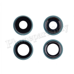 Rear Camera Glass Lens and Cover Bezel Ring for iPhone 11(2 Pcs/set) - Green PH-CA-IP-00104GR