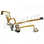 Flex Cable With Earphone Jack, Power Switch On/ Off  &  Vibrator Motor for iPhone 2G PH-PF-IP-098