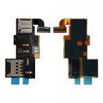 Sim Card & Memory Card Holder for LG VS930 PH-FC-LG-00008