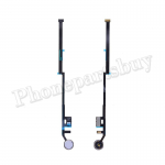 Home Button Connector with Flex Cable Ribbon for iPad 7 2019 (10.2 inches) - Silver PH-HB-IP-00128SL