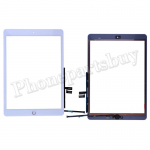 Touch Screen Digitizer With Home Button and Home Button Flex Cable for iPad 7 2019 (10.2 inches)(High Quality) - Gold PH-TOU-IP-000890GDA