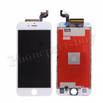 LCD Screen Display with Touch Digitizer Panel and Frame for iPhone 6S (4.7 inches)(Incell) - White PH-LCD-IP-00064WHI